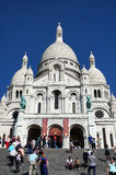 Sacred Heart Church in Paris Royalty Free Stock Photography