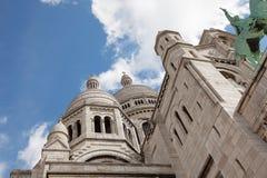 Sacred Heart Church Paris Stock Image