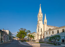 Sacred Heart of Jesus Cathedral at Camaguey, Cuba Royalty Free Stock Images