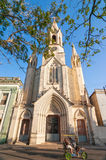 Sacred Heart of Jesus Cathedral at Camaguey, Cuba royalty free stock photography