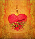 The Sacred Heart of Jesus Royalty Free Stock Images