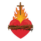 Sacred heart of jesus Royalty Free Stock Photo