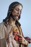 Sacred Heart of Jesus Stock Photo