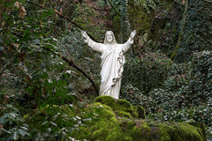 Sacred Heart of Jesus Statue Stock Photos