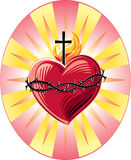 Sacred Heart of Jesus Royalty Free Stock Photos