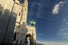 Sacred Heart of Paris Stock Photo