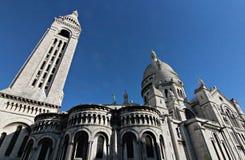 Sacred Heart of Paris - Sacré-Cœur Basilica Stock Photography