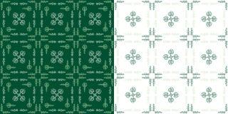 Sacred Heart Seamless Pattern Original Design Royalty Free Stock Photos