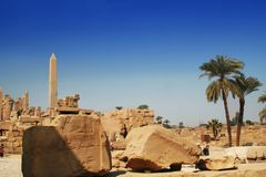 Sacred Karnak Stock Photos