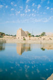 Sacred Lake in Karnak Temple Royalty Free Stock Images