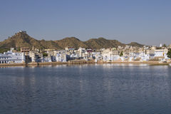 Sacred Lake At Pushkar In India Royalty Free Stock Photos