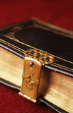 Sacred locked bible Royalty Free Stock Photography