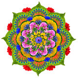 Sacred Lotus mandala Stock Image