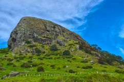 Sacred Maori Mountain Royalty Free Stock Photography