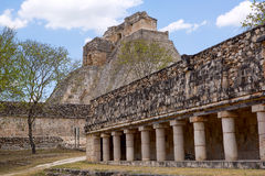 Sacred Mayan temples Stock Photos
