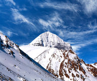 Sacred mount Kailash (elevation 6638 m), which are part of the T Royalty Free Stock Photos