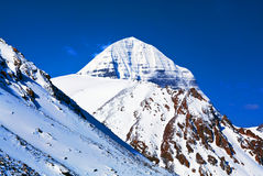 Sacred mount Kailash in Tibet Stock Photos