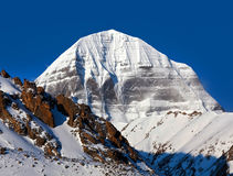 Sacred mount Kailash in Tibet Royalty Free Stock Photography