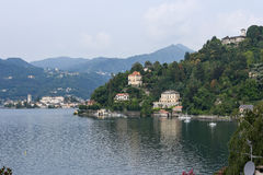 Sacred Mount Orta on Piedmont Royalty Free Stock Image