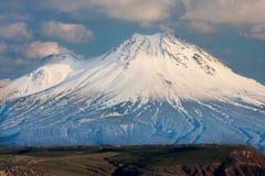 Sacred mountain of Ararat, Turkey Royalty Free Stock Photo