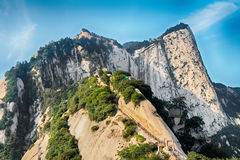 Sacred mountain Huashan, Xi'an, China Stock Images