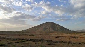 Sacred mountain in Fuerteventura Stock Photography