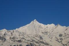 Sacred mountain of  Kawagebo. Kawagebo,or  Meili Snow-Mountain in Deqin,Yunnan Province,China Royalty Free Stock Images