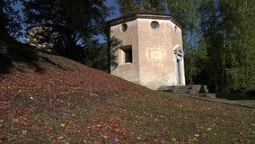 Sacred Mountain of Varallo stock footage