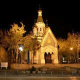 Sacred Nikolay's temple in Sofia Royalty Free Stock Photography