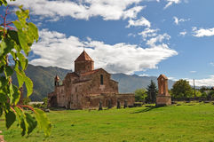 Sacred Odzun monastery in Armenia. North west side Stock Photo