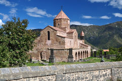 Sacred Odzun monastery in Armenia. 5th-7th century Stock Images