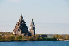 Sacred place. Beautiful Kizhi island Stock Photos