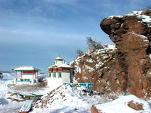 Sacred place of Buddhists Russia Siberia the North of Buryatiya the World the Nature the Landscape Stock Images