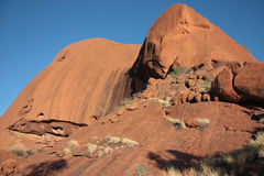 Sacred Place Uluru Stock Photo