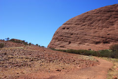 Sacred Place Uluru Royalty Free Stock Image