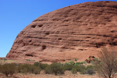 Sacred Place Uluru Stock Photography