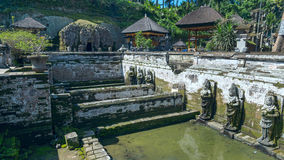 Sacred pool at Goa Gajah ancient temple Stock Photography