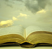 Sacred reading Royalty Free Stock Photography