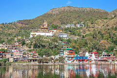 Sacred Rewalsar Lake Padmasambhava India Royalty Free Stock Photo