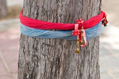 Sacred ribbons Royalty Free Stock Images