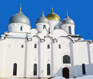 Sacred Sofia in the winter Stock Photography