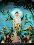 Sacred statue in temple Royalty Free Stock Images