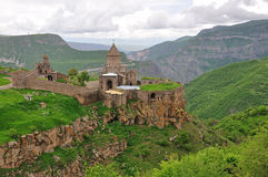 Sacred Tatev Monastery Royalty Free Stock Photography