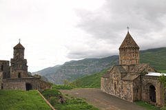 Sacred Tatev Monastery in Armenia Royalty Free Stock Photos