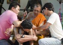 Sacred Tattoo Ceremony Stock Image