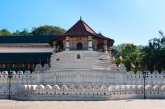 Sacred Tooth Relic at Kandy, Sri Lanka. Famous Buddha temple of the Sacred Tooth Relic at Kandy, Sri Lanka Stock Image