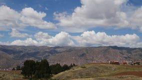 Sacred Valley, Cusco, Peru. Shot of Sacred Valley, Cusco, Peru stock footage