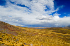 Sacred Valley of the Incas. Cusco to Puno, Peru. Stock Image