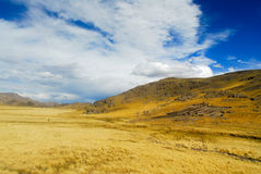Sacred Valley of the Incas. Cusco to Puno, Peru. Stock Photography