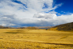 Sacred Valley of the Incas. Cusco to Puno, Peru. Royalty Free Stock Image